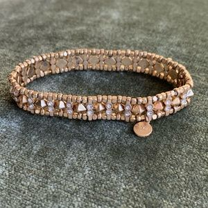 Stella & Dot Reversible Gold Bracelet
